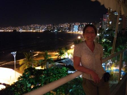 Acapulco bei Nacht