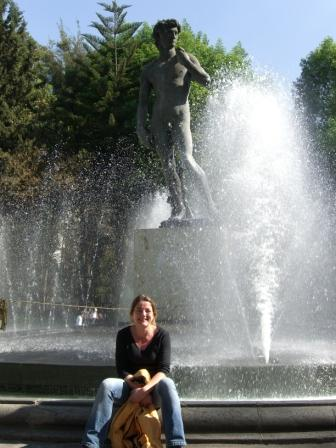 Anne am Davidbrunnen