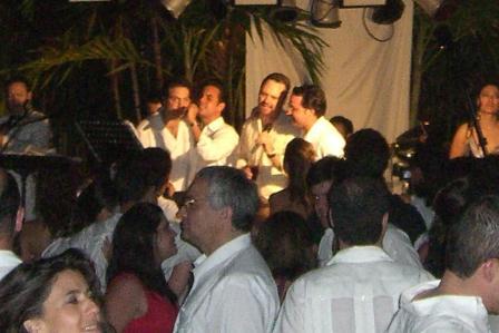 Gesangseinlage des Bräutigams